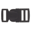 Craft Paracord Buckle (5pcs) 15mm Black